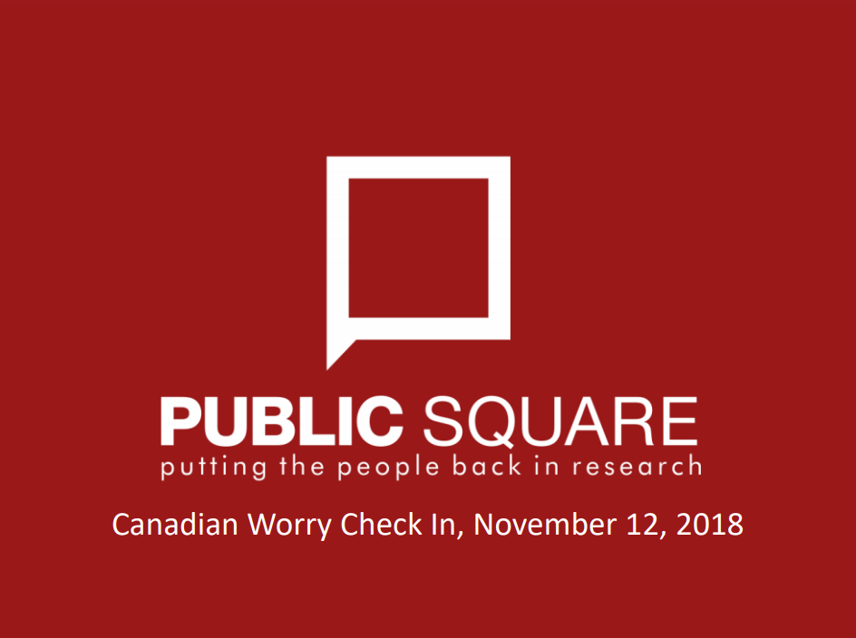 Canadian Worry Check In Report